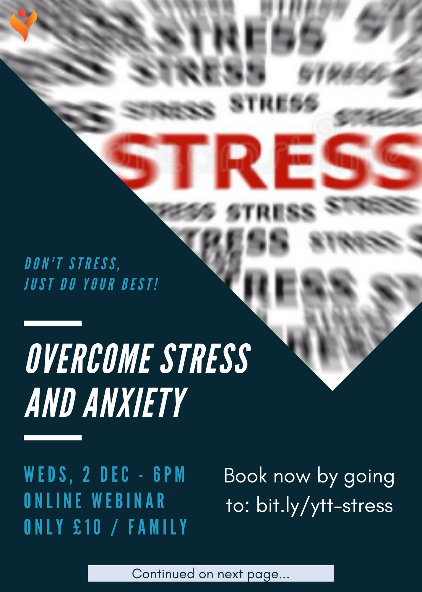 Overcome Stress and Anxiety poster